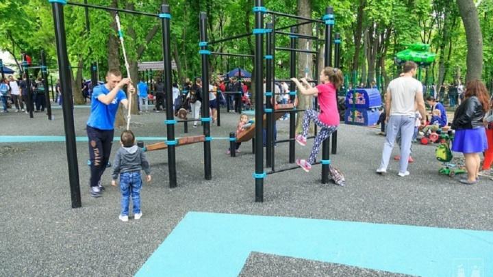 Чиновники хотят отремонтировать все спортивные площадки Ростова к 2025 году