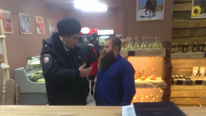 В ростовском магазине Германа Стерлигова полиция потребовала снять табличку «Содомитам вход воспрещен»