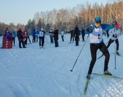 Лыжники ОАО «Славнефть-ЯНОС» открыли зимний сезон