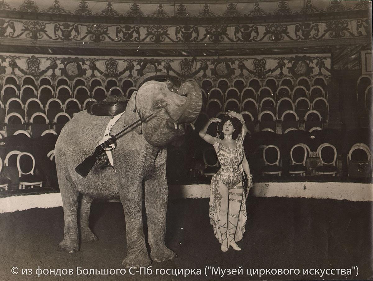 Арена цирка в 1920-е