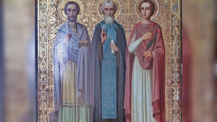 Архангелогородец передал в дар Ильинскому собору икону XIX века