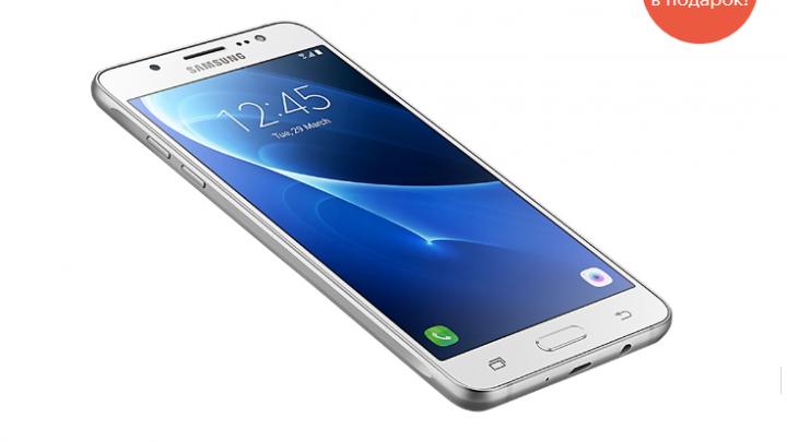 МегаФон дарит связь за покупку смартфонов серии Samsung Galaxy J