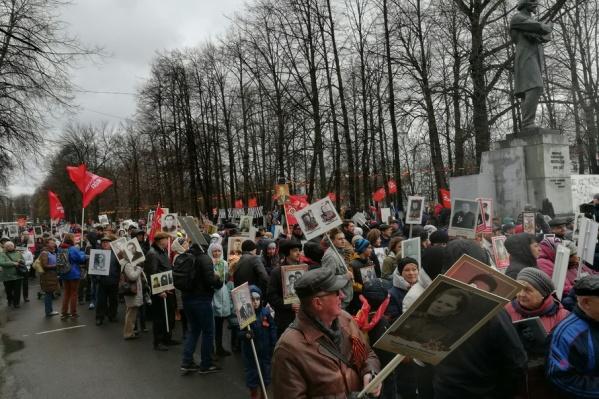 На шествие придут тысячи ярославцев