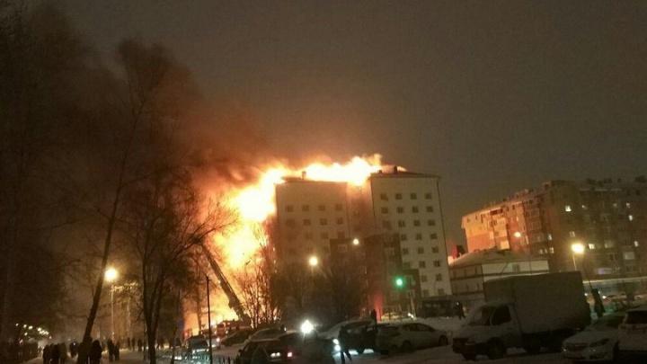 Хроника пожара на Олимпийской: показания жены поджигателя, обследование несущих стен дома