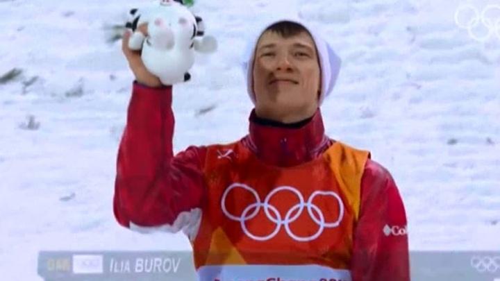 Квартиру олимпийцу: губернатор подарил жильё фристайлисту Илье Бурову и его тренеру