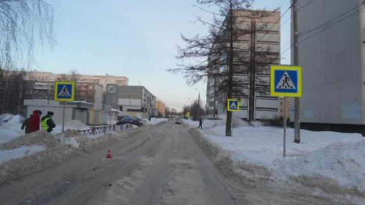 В Заволжском районе Ярославля на пешеходном переходе иномарка сбила подростка