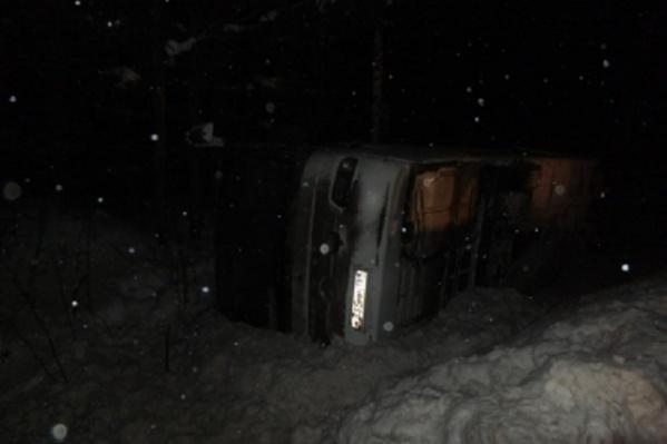 Автобус возвращался из Великого Устюга