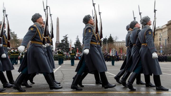 Парад в Волгограде: как это было