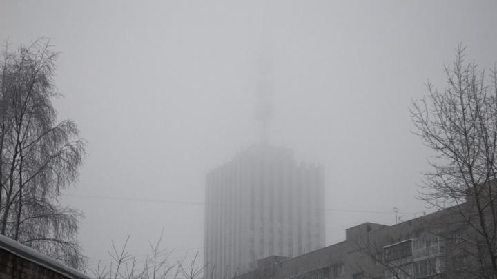 Жизнь в условиях плохой видимости: фотографии туманного Архангельска