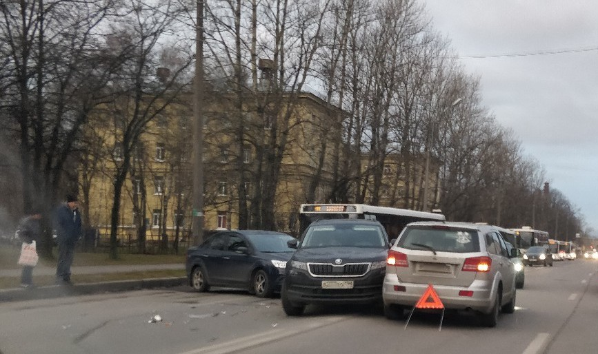 ДТП на Полюстровском проспекте