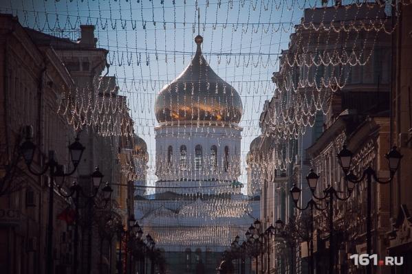Первый месяц зимы в Ростове выдался очень теплым