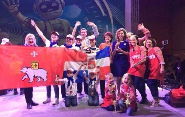 Пермские дошкольники стали абсолютными победителями конкурса «Робофест»