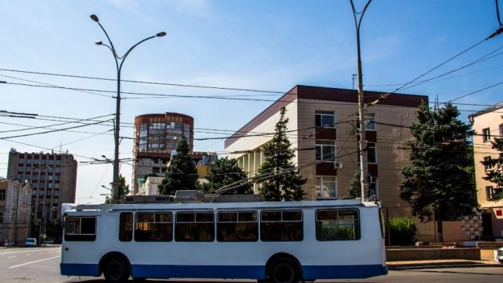 В донской столице восстановят две троллейбусные линии