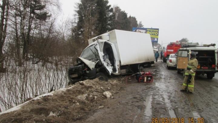 Смертельное ДТП с двумя «Газелями» на трассе М-8: погиб мужчина