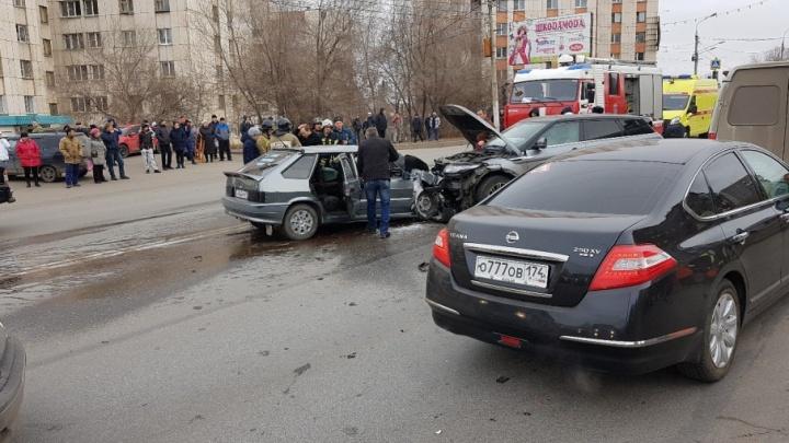 Пьяный на внедорожнике спровоцировал страшную аварию в Магнитогорске