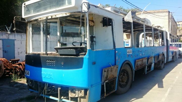 В Волгограде закрывают троллейбусное депо №1