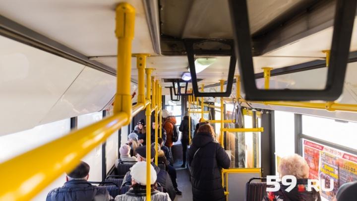 В Перми с 18 декабря один из автобусных маршрутов будет ходить чаще