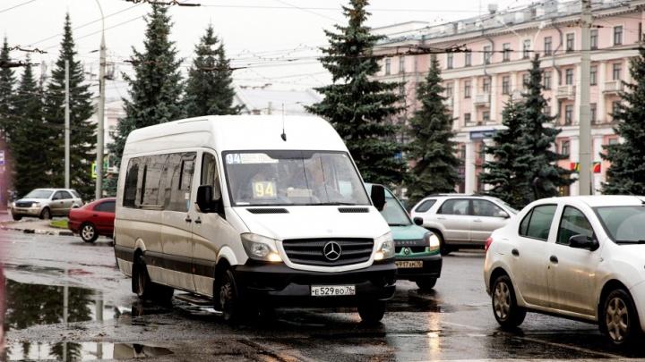 Ярославских маршрутчиков оштрафуют за молчание
