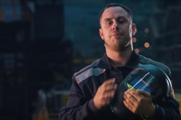 Макисма Тетерина в качестве героя ролика выбрали из пяти кандидатов – рабочих «Севмаша»