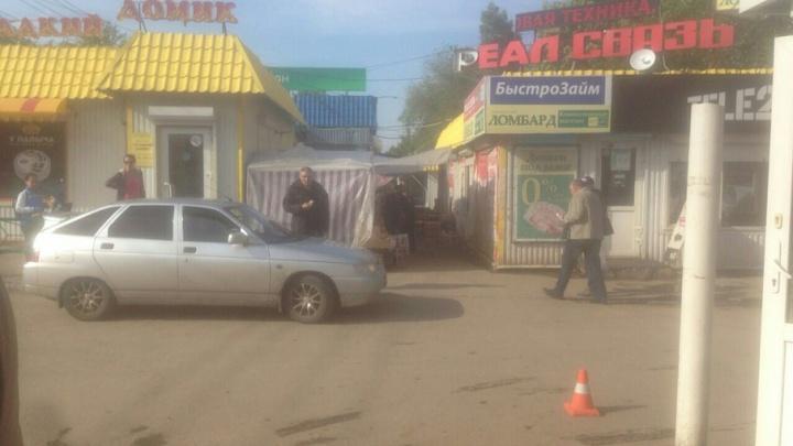 В Самаре женщина на Citroen сбила девятилетнюю девочку и скрылась места ДТП