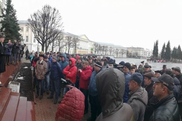 Ярославские дальнобойщики против