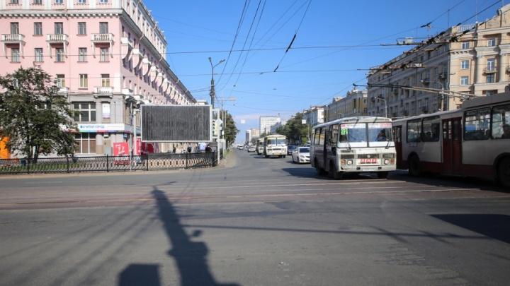 Движение троллейбусов в центре Челябинска ограничат до субботы