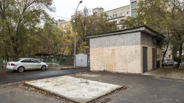Жителей Центрального района Волгограда разочаровал ремонт их двора