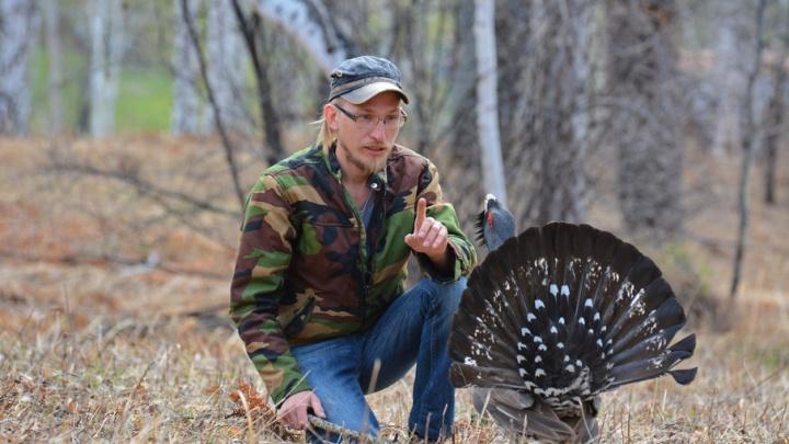 На крыльях любви: на Южном Урале нашли одинокого глухаря, который бросается на людей