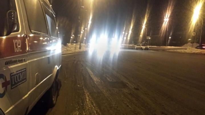 В Тольятти «Калина» сбила пешехода на дороге