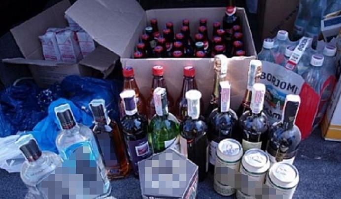 Власти пресекли незаконную торговлю алкоголем в Железнодорожном районе