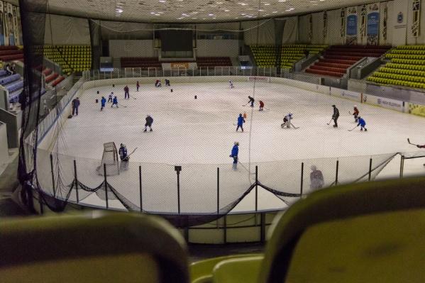 Тренировки команды будут проходить в комплексе «Маяк»
