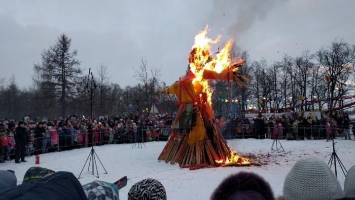 Уличная еда, карнавал и конкурс красоты: чем удивит Главная масленица страны