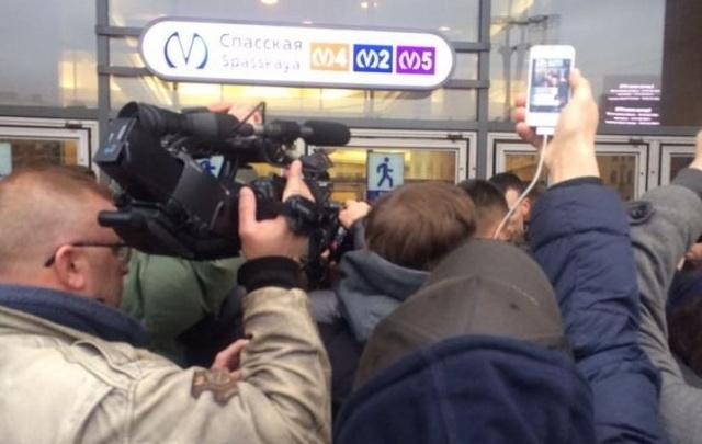 Пермские журналисты в Санкт-Петербурге: «Нас попросили не ходить на место взрыва»