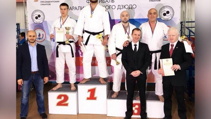 Челябинские дзюдоисты привезли две бронзы с чемпионата России среди инвалидов по зрению