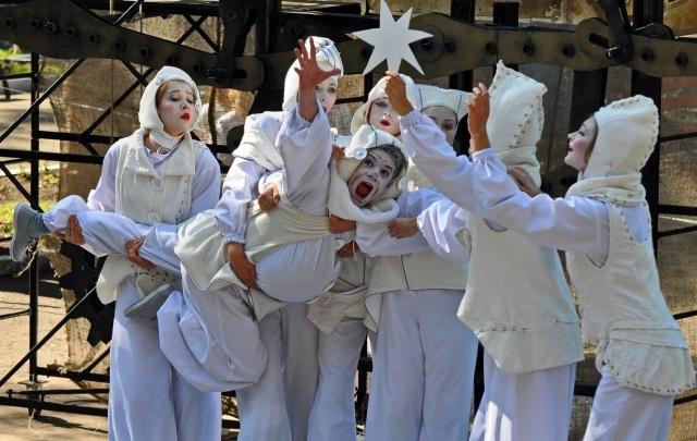 В парке Гагарина покажут выступление уличного театра из Испании