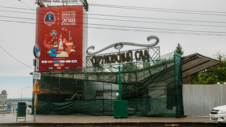 В Самаре не откроют Струковский сад, если к нему не будет подъездов для инвалидов