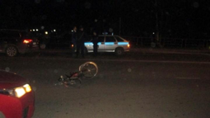 В Ярославле велосипедист влетел в лобовое стекло иномарки