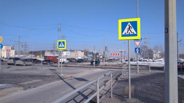 Самарцы просят увеличить время светофора на переходе на Московском шоссе — Ташкентской