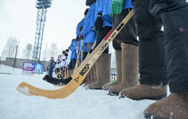В хоккейном турнире в валенках приняли участие гости форума