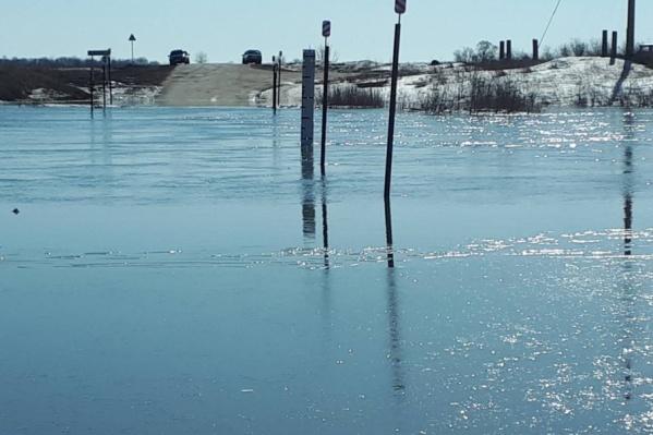 Подъем паводковых вод привел к небывалому затоплению