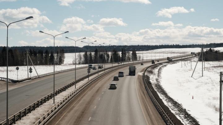 На двух участках трассы Пермь — Екатеринбург на неделю отключат освещение