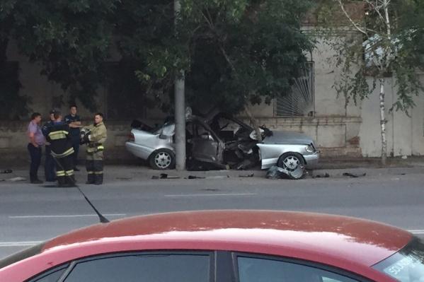 В ДТП погиб один из пассажиров автомобиля