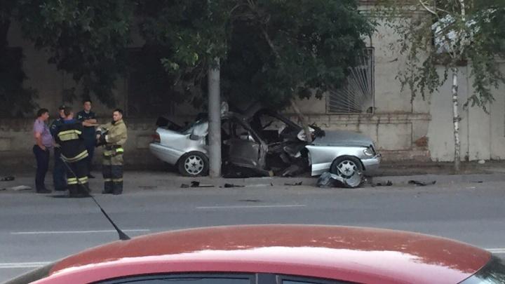 Водитель разбитого на Текучёва «мерседеса» был пьян