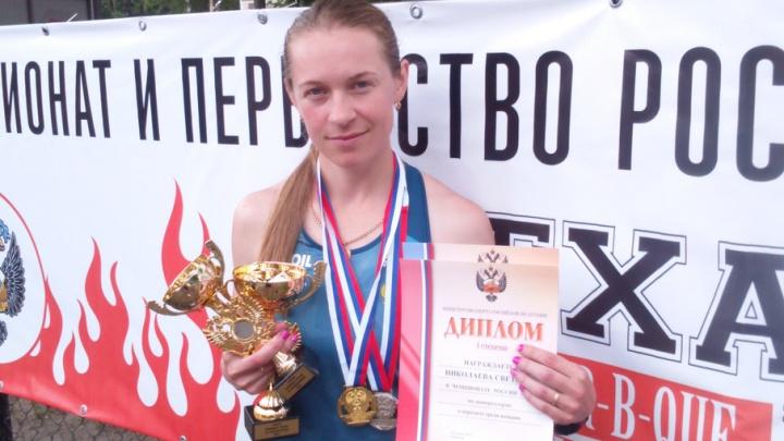 Спортсменка из Архангельска Светлана Николаева стала чемпионкой России по лыжероллерам