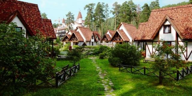 Уютный загородный спа-отель «ФонГрад» приглашает на отдых