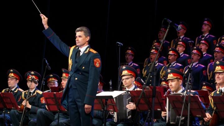 Возрожденный ансамбль имени Александрова подарил горожанам «Калинку» и «Яблочко»