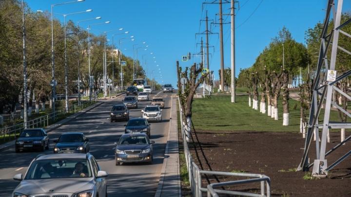 Закроют дорогу от пронырливых пешеходов: на улицах Самары установят ограждения