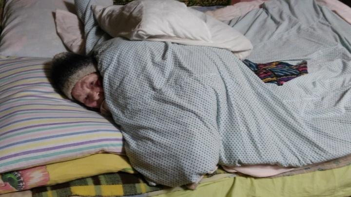 «Сняли валенки, ходим в футболке»: после вмешательства СМИ в доме замерзающей 87-летней тюменки стало тепло
