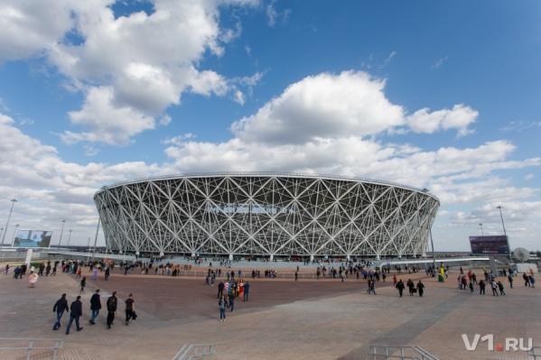9 мая кубок выставят перед главным стадионом Волгограда