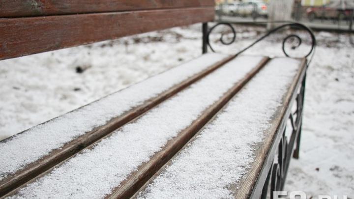 МЧС предупреждает: в Прикамье ожидаются заморозки до -6 градусов